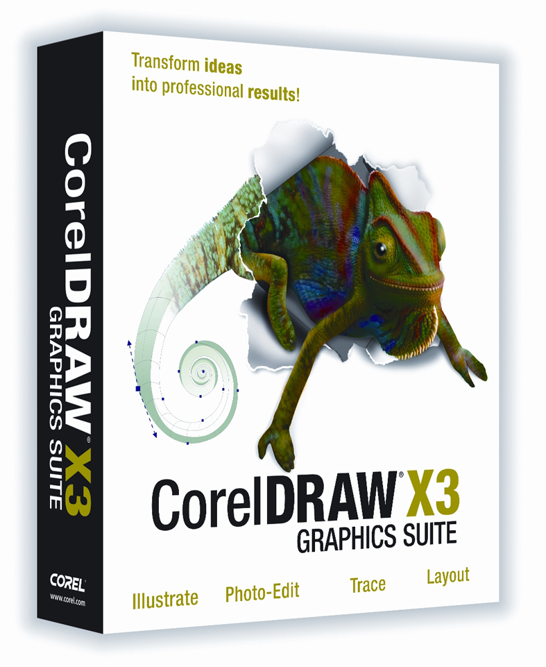 Программу coreldraw x3 graphics