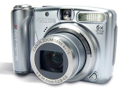 Canon PowerShot A720 IS Concise Review