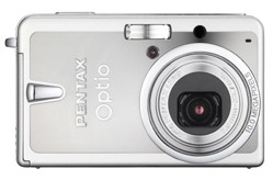Pentax Optio S10 front