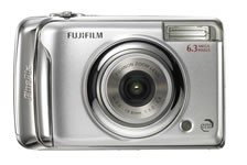 Fujifilm FinePix A610 front