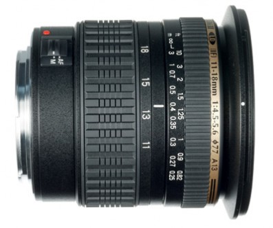 Tamron SP AF 11-18mm f/4.5 - 5.6 Di II LD Aspherical