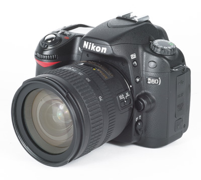 ... of the Nikon D80 S...