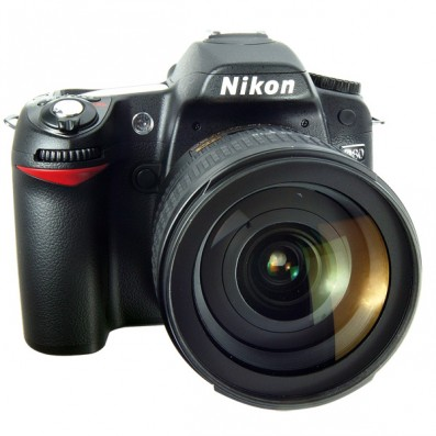 Nikon D90 Front