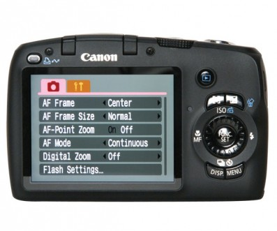 Canon PowerShot SX110 IS Back