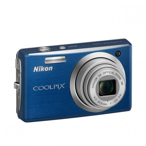 Nikon Coolpix S560 Blue
