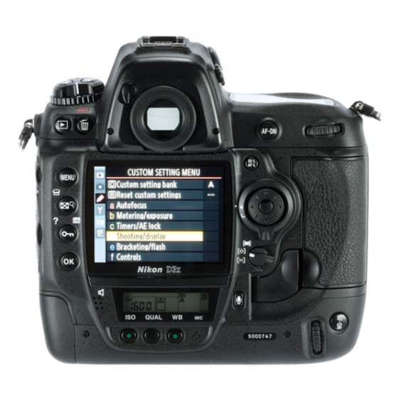 Nikon D3x Back