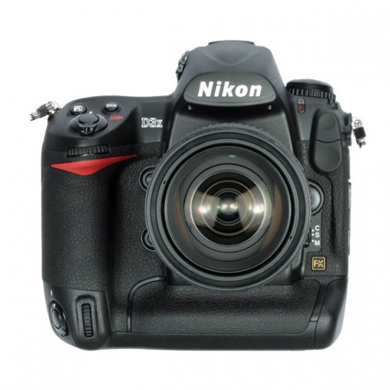 Nikon D3x Front