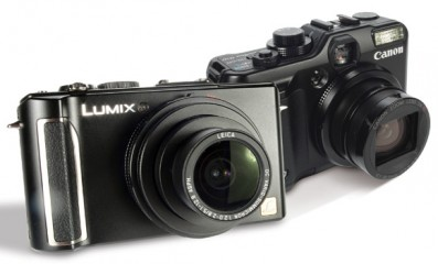 Panasonic Lumix LX3 vs. Canon PowerShot G10