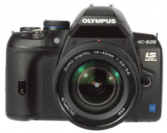 Olympus E620 review product shot