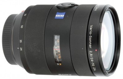 Zeiss Vario-Sonnar 24-70mm f/2.8 ZA T* SSM lens review product shot