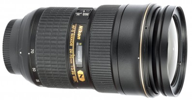 Nikon AF-S Nikkor 24-70mm f/2.8G IF ED SWM lens review product shot