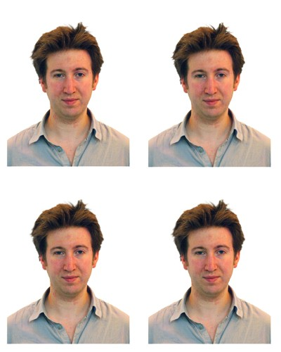 How to shoot passport photos at home