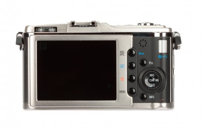 Olympus E-P1 product image back rear