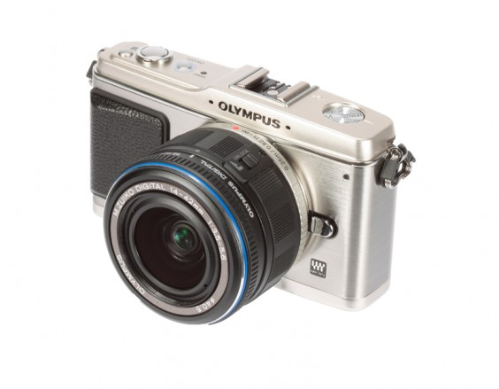Olympus E-P1 product image side