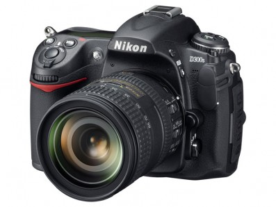 Nikon D300s threequarter
