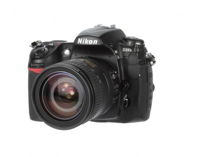 Nikon D300s review product image - front left angle