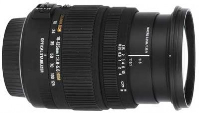 Sigma 18-125mm f/3.8-5.6 DC OS HSM