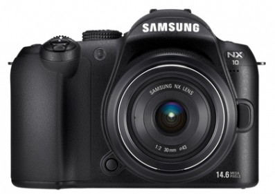 Samsung NX10 front | News | What Digital Camera