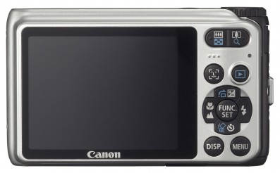Canon powershot A3000 IS back
