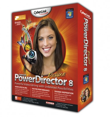 Cyberlink Power Director 8