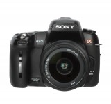 Sony a450 product front on