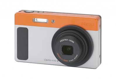 Pentax H90 review product shot image front side