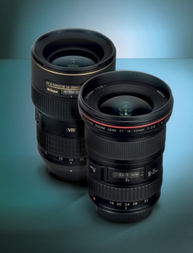 Canon vs Nikon: 16-35mm Lens Grouptest