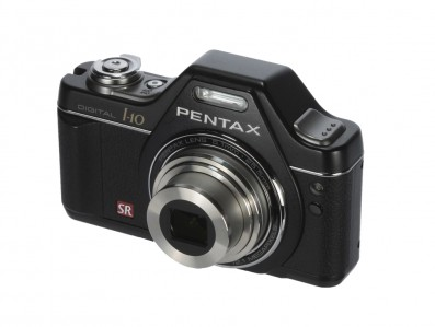 Pentax i-10 review product image front angle