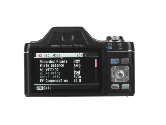 Pentax i-10 review product image rear back