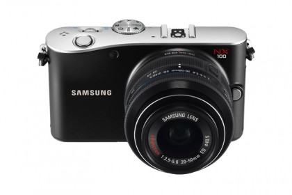 Samsung NX100 released