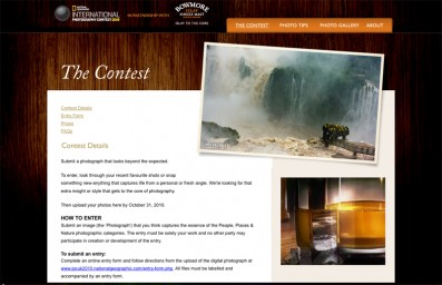 National Geographic Bowmore photography competition