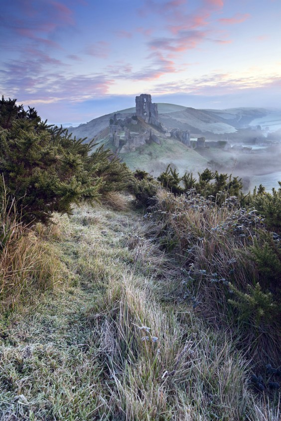 Take A View Landscape photographer of the year winner Antony Spencer's image of Corfe Castle