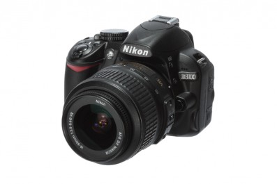Nikon D3100 product image front angle