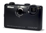 Nikon S1100pj front view