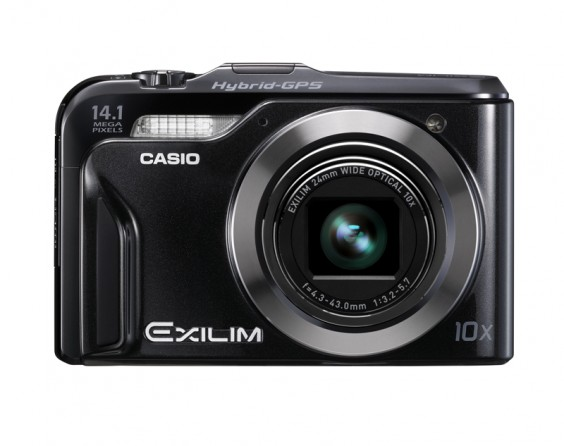 Casio EXILIM EX-H20G product image front on