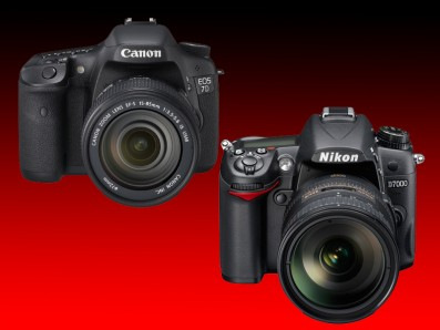 Canon vs Nikon head to head