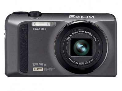 Casio EXILIM ZR100 product shot front