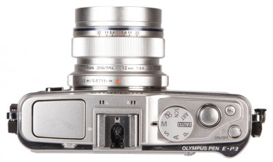 Olympus E-P3 top | News | What Digtial Camera