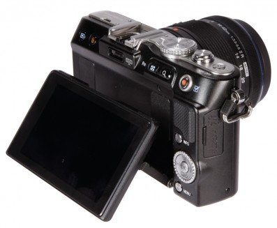 Olympus E-P3 3Q rear | News | What Digtial Camera