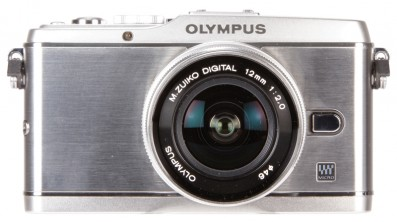 Olympus E-P3 front News | What Digital Camera