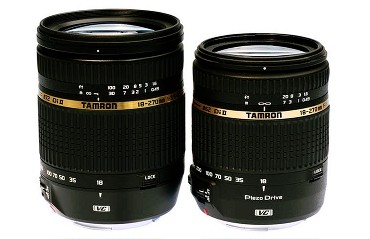 Product pictures: Tamron 18-270mm zooms
