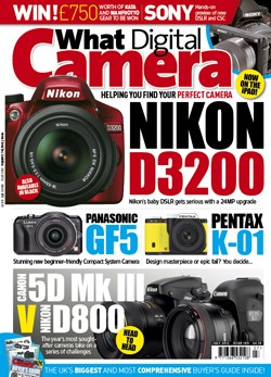 What Digital Camera July cover