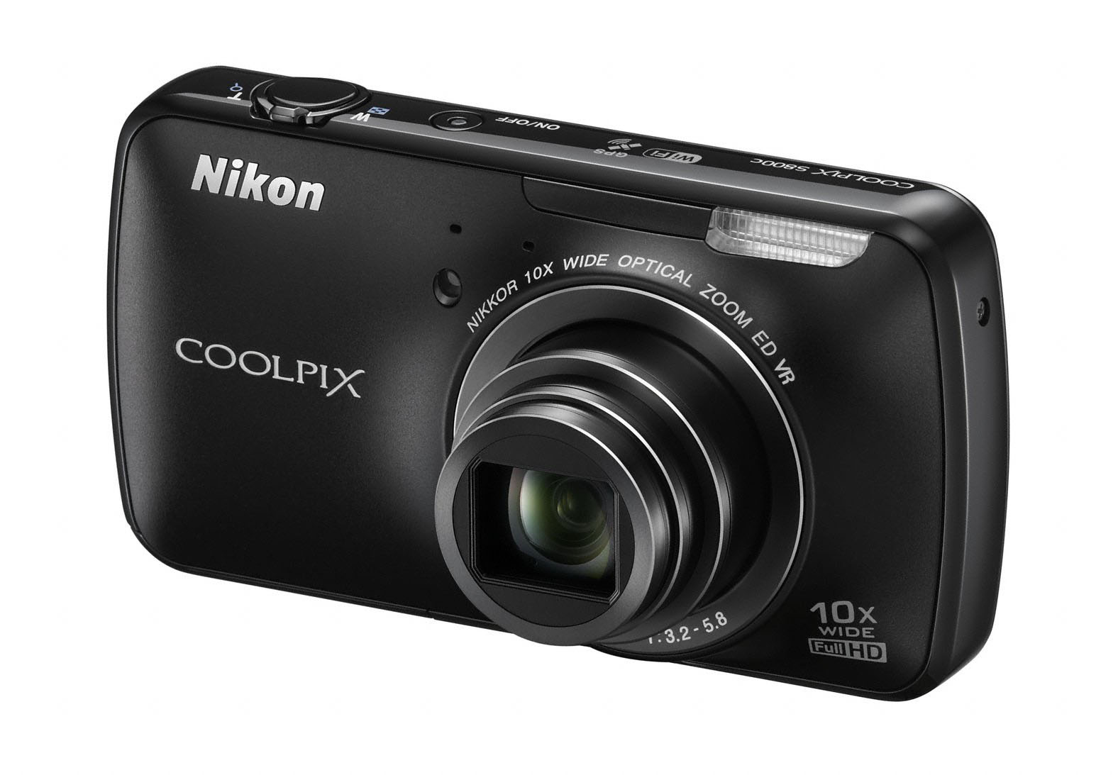 Nikon announces the S800c android compact