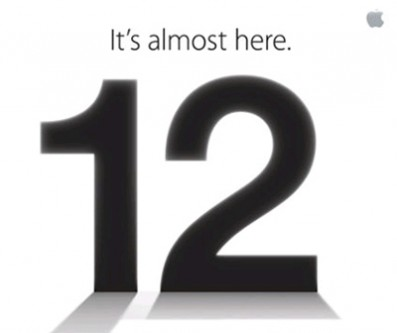 Apple iPhone 5 invitation